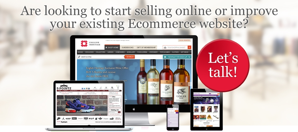 Are looking to start selling online or improve your existing Ecommerce website?