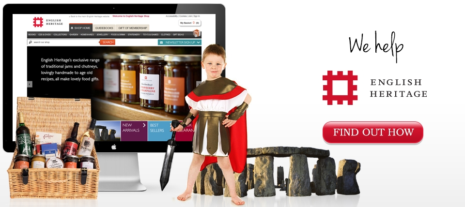 English Heritage Ecommerce Website