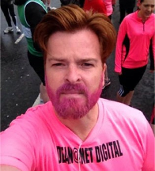 Dean is running the Bristol 10K again for BUST Charity on Sunday 31st May
