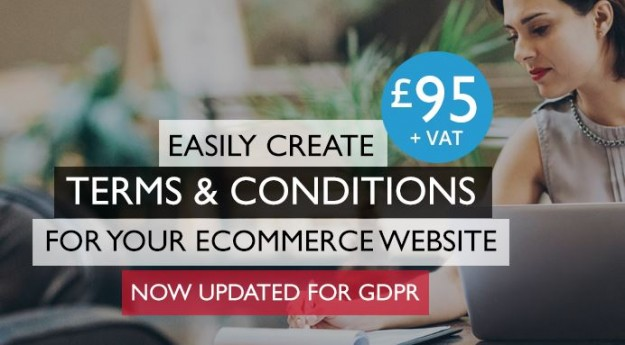 Create tailored ecommerce website T & C's